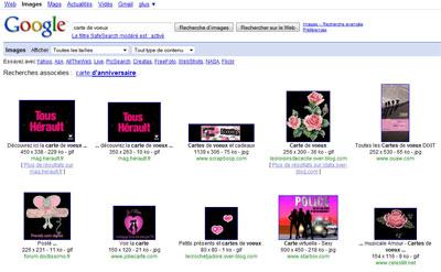 Google Image Search et l'option couleur