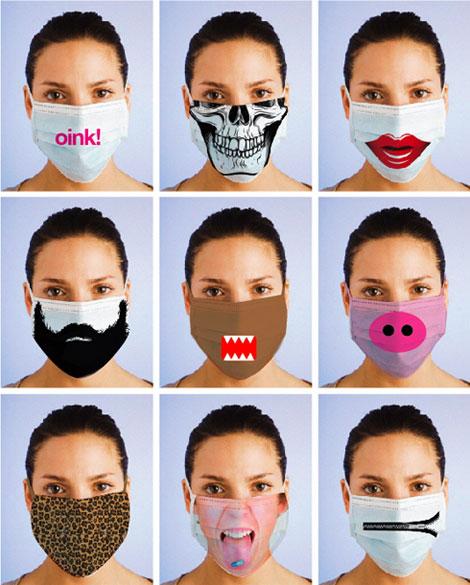 Irina Blok, directrice artistique - Masques grippe porcine fashion