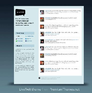 Live Twit : un blog pour les réseaux sociaux !