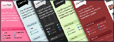 LiveTwit : un blog pour Twitter ? (thème WordPress)