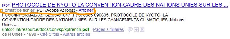 Lien PDF pour le moteur de recherche français