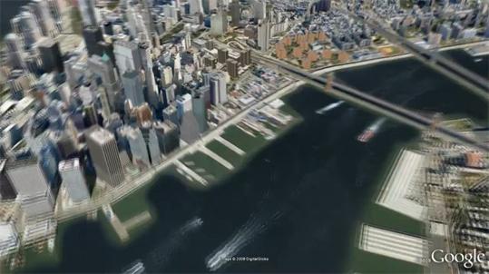 Lancement de Google Building Maker pour Google Earth : Modélisateur de bâtiments 3D
