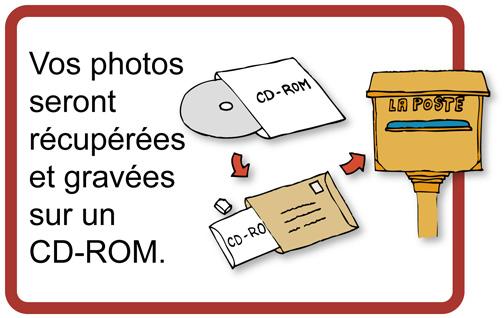 Nous récupérerons vos photos.