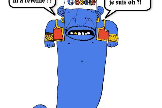 Quel serait votre voeu face au génie Google ?