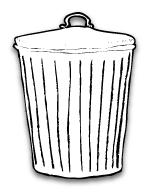 Votre site Web peut devenir une vraie poubelle.