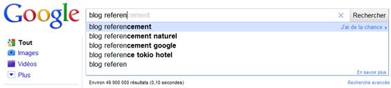 Google Instant, les résultats de recherche en temps réel