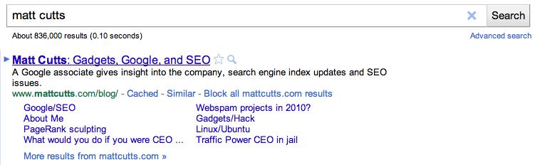 Bloquer des sites via Google. Un futur facteur de ranking?