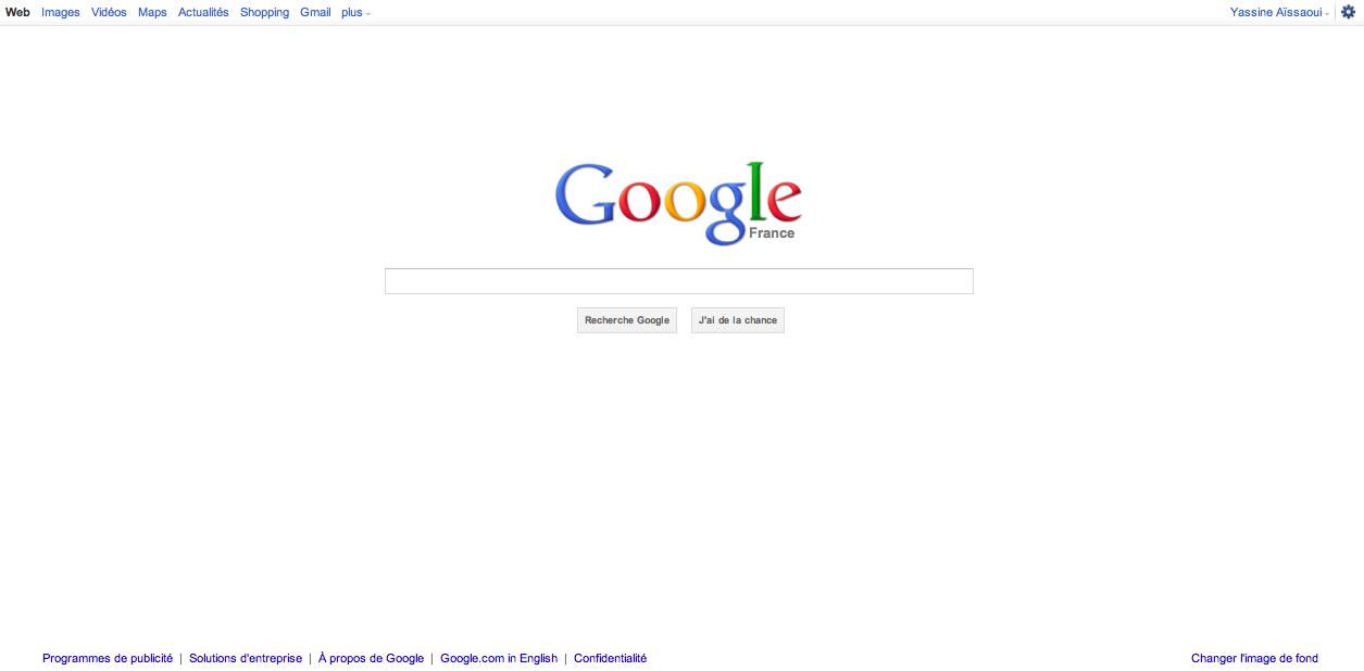 Un Google que personne n'a encore vu, ou presque