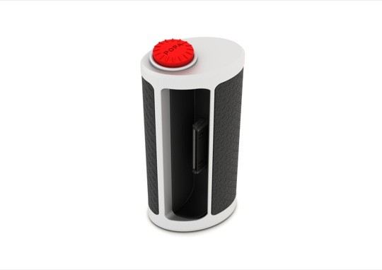 POPA, le bouton d'obturateur rouge pour iPhone 4