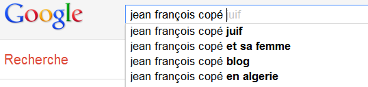 Jean-Franois Cop - Recherche Google Suggest