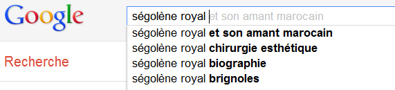 Ségolène Ryal - Suggestions Google