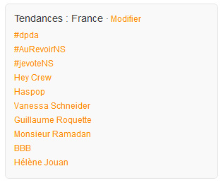 Twitter: #AuRevoirNS domine #jevoteNS