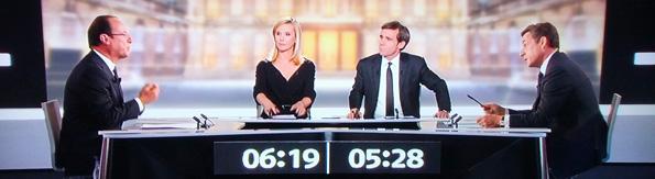 Présidentielle 2012: Le débat entre François Hollande et Nicolas Sarkozy