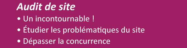 Audit de site: un préalable pour réussir son référencement web