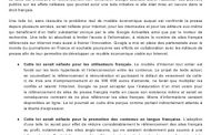 Le texte de Google France communiqué aux associations d'éditeurs de presse française