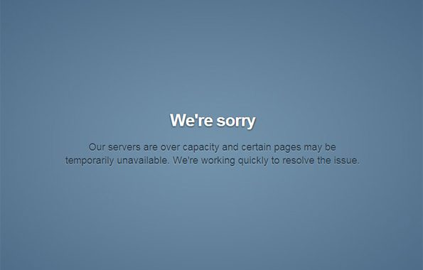 Tumblr inaccessible, down, kaputt !