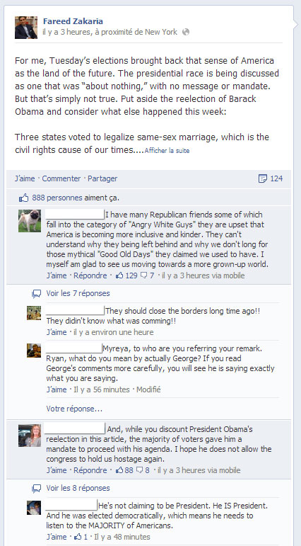 Facebook teste le classement de commentaires pour booster l'engagement
