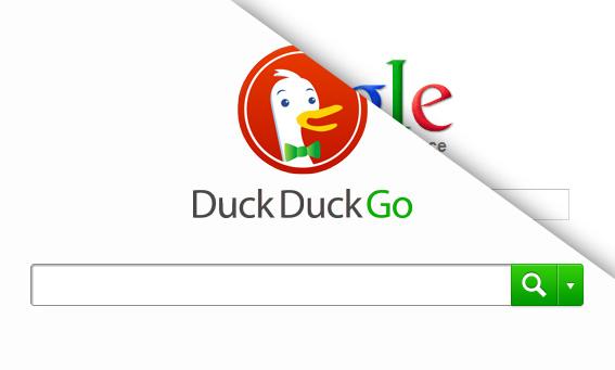 Le moteur de recherche DuckDuckGo contre Google