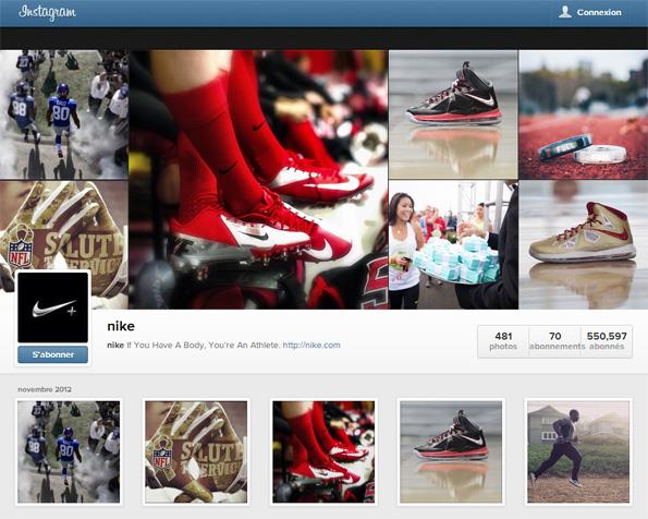 Nouveau: Instagram crée le profil web Instagram