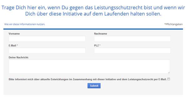 Allemagne: Google lance une pétition pour dire non aux droits voisins