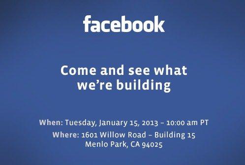 Facebook va annoncer une nouveauté lors d'une conférence