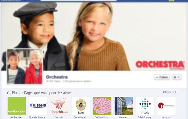 Facebook: des pages similaires suggérées après un clic sur J'aime