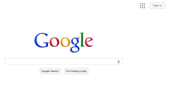 Menu de navigation Google (en test)