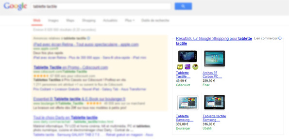 Transition de Google Shopping vers le modèle payant en France, UK, etc.