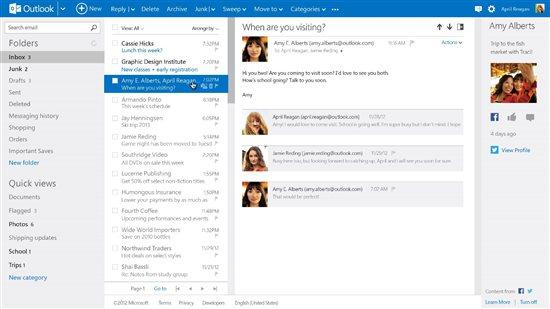 Microsoft: Une migration d'Hotmail vers Outlook.com en cours ?