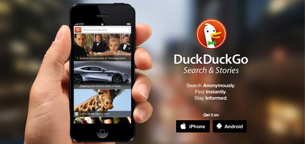 DuckDuckGo, l'application mobile pour Android et iOS