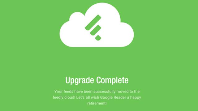 Migration complète de Google Reader vers Feedly