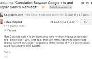 L'impact des +1 sur le SEO : Cyrus Shepard répond à Ya-graphic.com