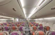Google visite l'A380 de la compagnie Emirates