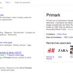 Knowledge Graph de Primark, distributeur irlandais de vêtements.