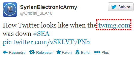 Twitter et New York Times piratés par Syrian Electronic Army (SEA)
