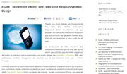 Referenceur.be : Etude : seulement 9% des sites web sont Responsive Web Design