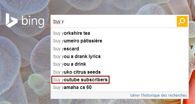 Acheter abonnés YouTube