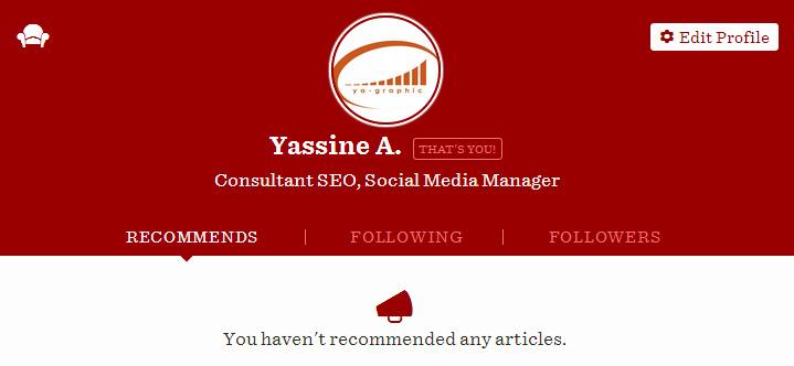 Le nouveau Readability permet de recommander des articles