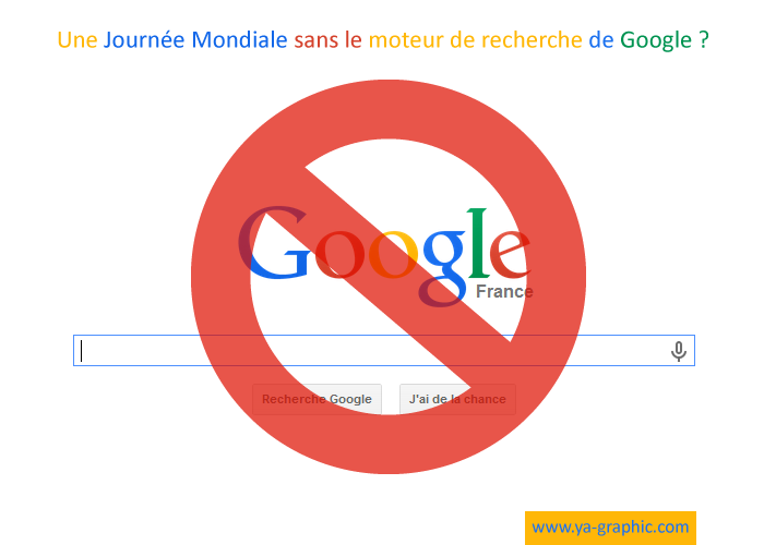 Pour ou contre une Journée Mondiale sans Google ?