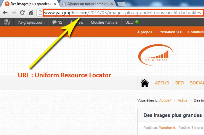 Qu'est-ce qu'une URL (Uniform Resource Locator)