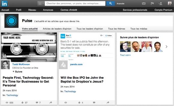 Vous pourrez publier des articles dans LinkedIn au même titre que les influenceurs