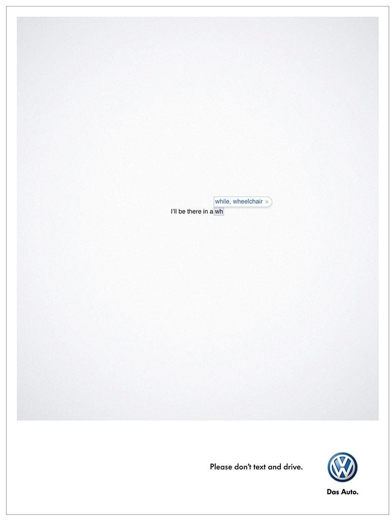 Volkswagen : smartphone et conduite ne font pas bon ménage