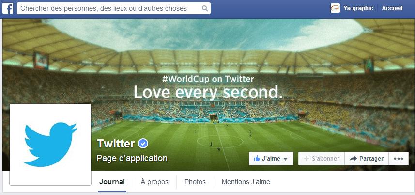 Coupe du Monde 2014 célébrée par Twitter