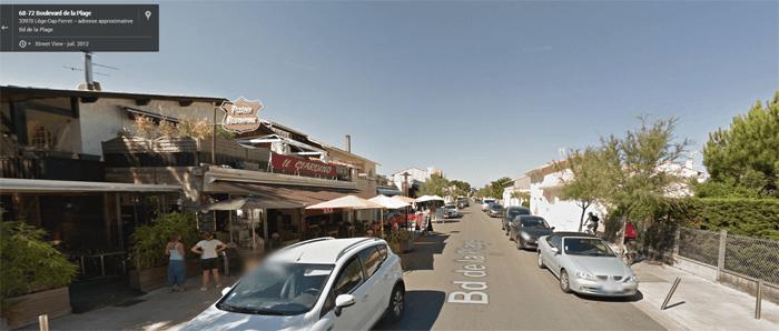 Restaurant Il Giardino dans Google Maps