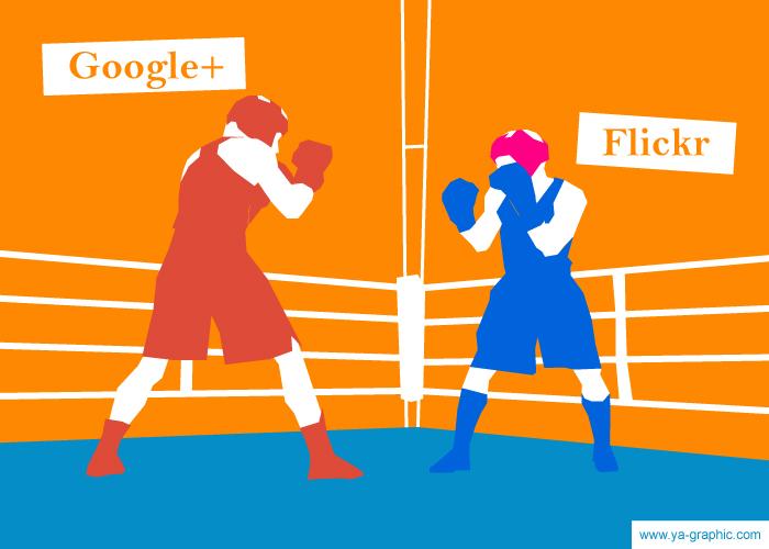 Choisir Google+ ou Flickr pour la photo ?