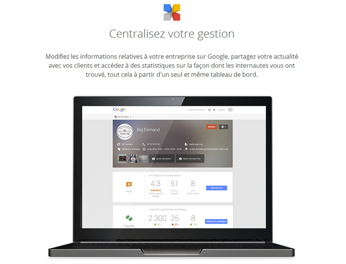Google My Business : la gestion des informations de votre entreprise simplifiée