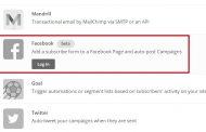 5 étapes pour intégrer MailChimp dans votre page Facebook