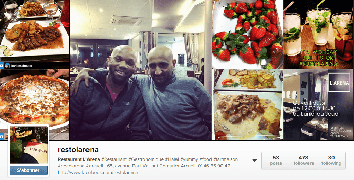 Restaurant gastonomique halal L'Arena