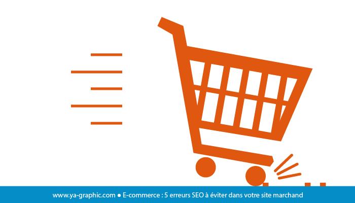 Erreurs SEO en e-commerce