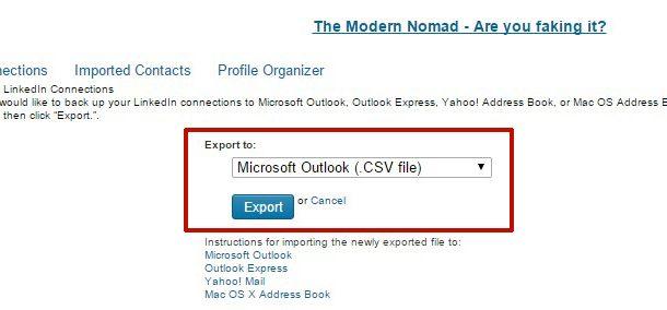 Exporter vos contacts LinkedIn vers Excel en 5 minutes